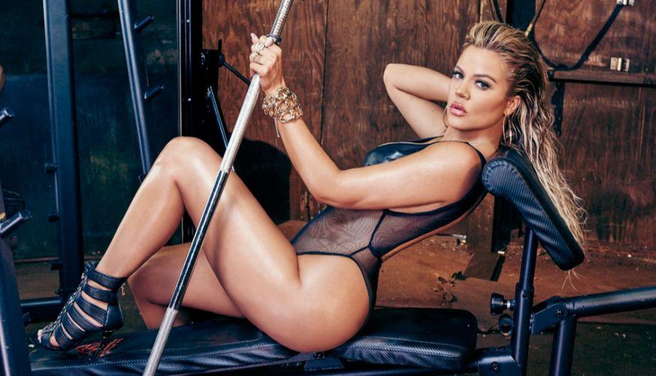 Khloe, hermana de Kim, demuestra que los genes Kardashian son fuertes en todo sentido. (Complex)
