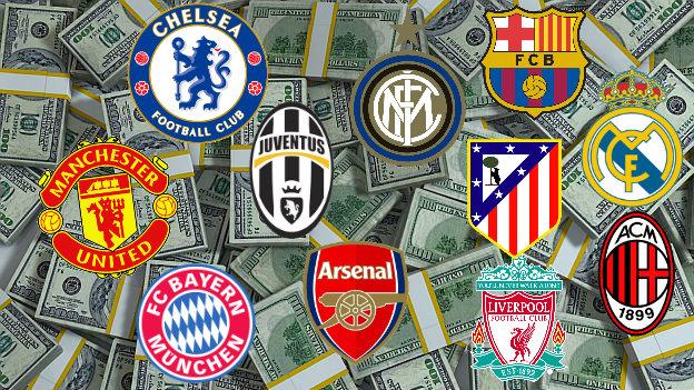 Fichajes 2015-16: estos son los clubes que más han gastado hasta el momento