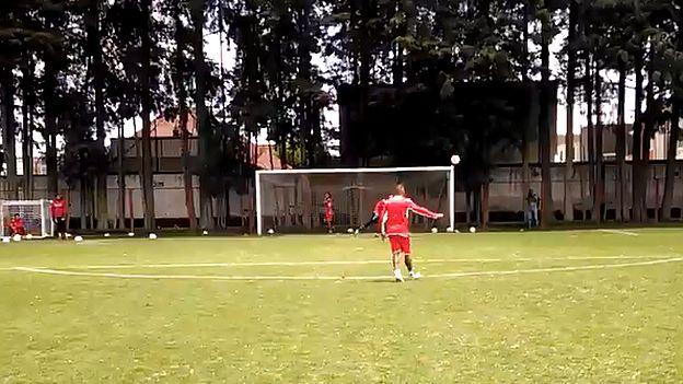 Christian Cueva debutó en la Copa MX con el Toluca. (Captura de video / Twitter: @TolucaFC)