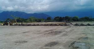 El nuevo complejo deportivo estará ubicado en el KM 444 de la carretera Fernando Belaunde Terry de Nueva Cajamarca. (Jhony Altamirano)