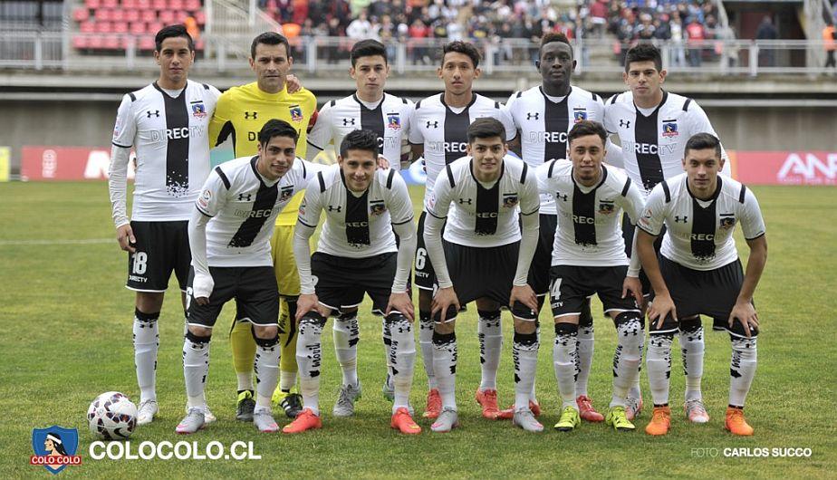 Christofer Gonzales fue titluar por primera vez en Colo Colo. (Fotos: Web Colo Colo)