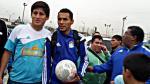Sporting Cristal: Lobatón fue ovacionado y se llevó la pelota del partido - Noticias de daniel ahmed