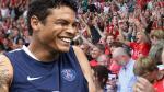 Transfermarkt.es estima que la carta pase de Thiago Silva puede llegar a costar más de 32 millones de dólares. Según esta web, la cifra fue actualizada luego de que el defensa jugara el mundial de Brasil 2014. (AFP)