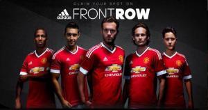 El Manchester United presentó de manera oficial su nuevo camiseta para la temporada 2015-16. (Difusión)