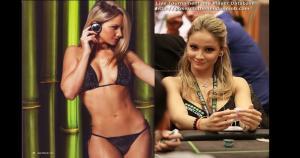 Es novia de Daniel Kid Poker Negreanu, uno de los jugadores más prestigiosos del mundo del póker. (Internet)