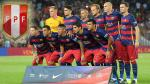 Barcelona: el único equipo peruano que disputó el Trofeo Joan Gamper en el Camp Nou - Noticias de roberto camacho