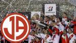 River Plate campeón de Copa Libertadores arrasó con todos menos con Aurich