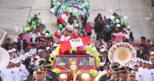Gladys Tejeda ganó la medalla de oro en la maratón femenina de los Juegos Panamericanos 2015. (James Sedano)