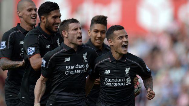 Liverpool ganó 1-0 a Stoke City por Premier League con golazo de Coutinho