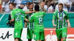 Wolfsburgo de Carlos Ascues ganó 4-1 a Stuttgarter Kicker por Copa Alemana - Noticias de nicklas bendtner