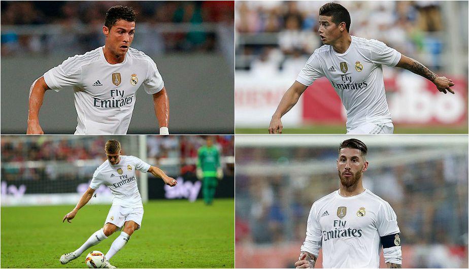 Real Madrid y los mejores jugadores pagados de su plantilla (FOTOS ...