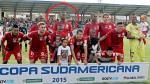 'Max Barrios' hizo su debut en la Copa Sudamericana con la Liga de Loja