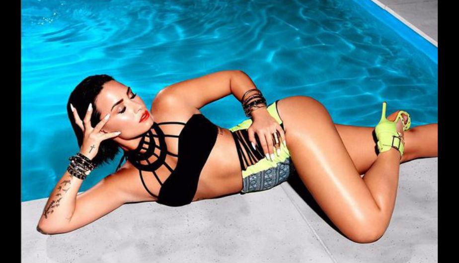 Demi Lovato fue una de las triunfadoras en la más reciente gala de los Teen Choice Awards . La categoría en la que ganó fue 'Artista femenina'. (@ddlovato)