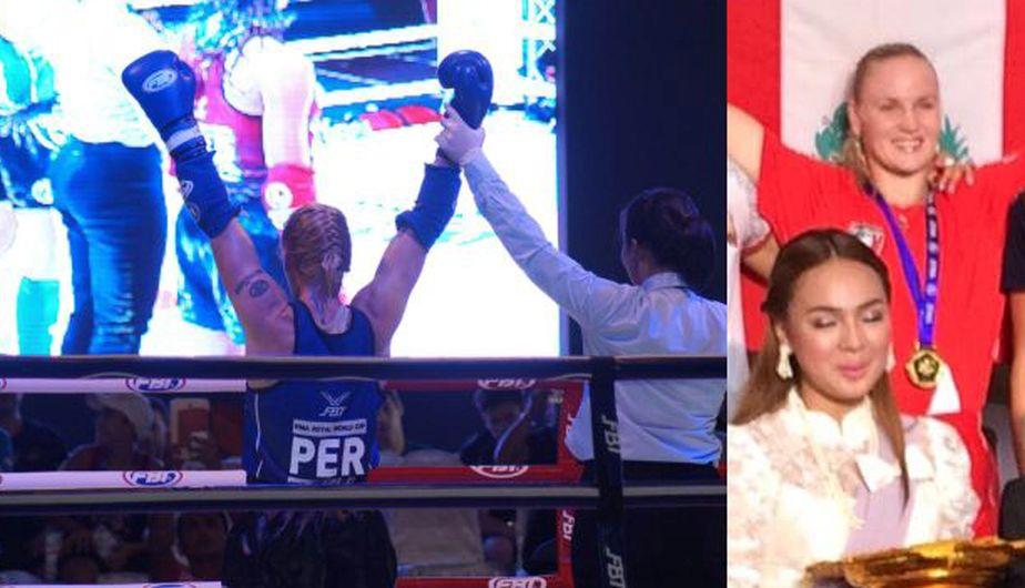 Valentina Shevchenko retuvo su título en el Mundial IFMA de Muay Thai. (Ilustración Depor)