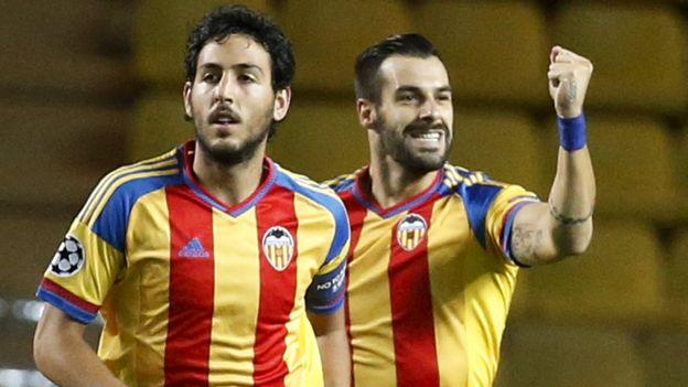 Valencia perdió 2-1 con Mónaco pero clasificó a los grupos de Champions League (VIDEO)