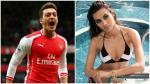 Arsenal: Mesut Ozil fue 'ampayado' con la Irina Shayk de... - Noticias de mandy capristo