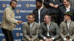 Bayern Munich brindó con cerveza sin alcohol y Vidal fue el centro de atención (FOTOS) - Noticias de santiago cup