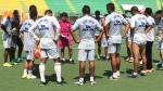 Sport Loreto: Javier Arce y su primer entrenamiento con el 'Decano'