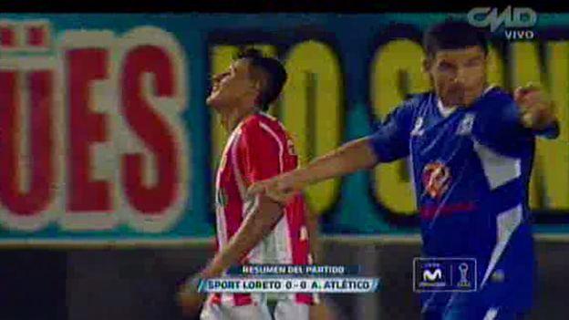 Sport Loreto empató 0-0 con Alianza Atlético por el Torneo Clausura