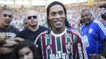 Ronaldinho enfureció a la hinchada por confundir a Fluminense con... - Noticias de karl heinz rummenigge