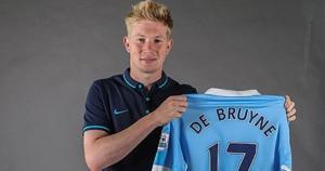 Kevin De Bruyne. De Wolfsburgo a Manchester City por 74 millones de euros. (Getty Images / AFP / AP)