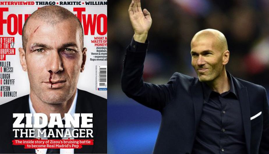 Zinedine Zidane jugó en el Real Madrid desde el 2001 hasta el 2006. (Difusión)