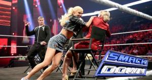 Lana y Summer Rae tuvieron un 'encontrón' en el último episodio de la WWE SmackDown. (WWE)