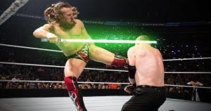 La WWE decidió unirse al #ForceFriday y presentar a sus luchadores como personajes de la saga de Star Wars. (WWE)