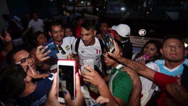 Selecci 243 N Peruana Colombia Llegada Paolo Guerrero Rusia
