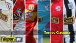 Torneo Clausura: día, hora canal y árbitros de los partidos de la cuarta fecha - Noticias de manuel garay canal