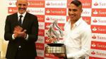 Selección Peruana: Paolo Guerrero recibió premio como goleador de la Copa América - Noticias de diosa depor
