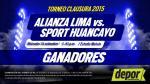 Alianza Lima vs. Sport Huancayo: estos son los ganadores de entradas dobles - Noticias de maribel flores