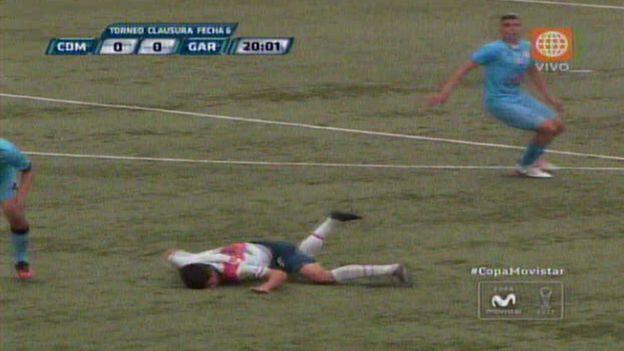 Diego Benítez es uno de los refuerzos de 'Muni' para el Torneo Clausura. (América TV)
