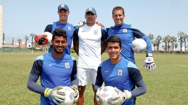 Daniel Prieto jugó un partido en el primer equipo y fue en 2012. (Prensa Alianza Lima)