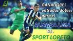 Alianza Lima vs. Sport Loreto: lista de ganadores de las entradas dobles - Noticias de elio sanchez