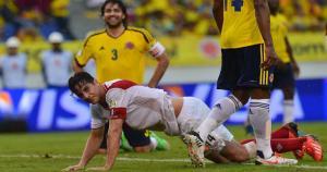 Claudio Pizarro fue titular y capitán de aquella derrota en Barranquilla.