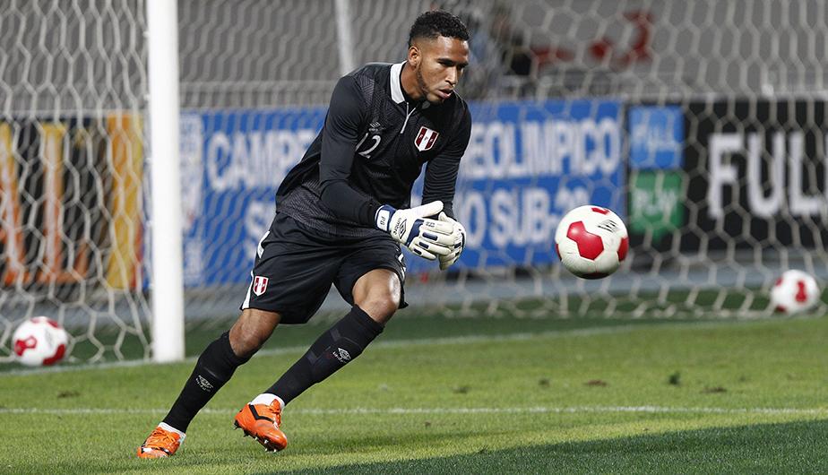El equipo titular de la Selección Peruana. Pedro Gallese. (USI)