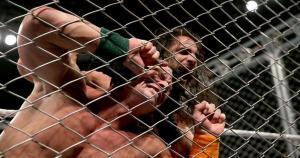 John Cena logró retener el título de los Estados Unidos ante Seth Rollins. (WWE)