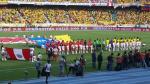 Perú vs. Colombia: así se entonó el Himno Nacional en el Metropolitano (VIDEO) - Noticias de un millon de pie