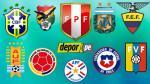 Eliminatorias Rusia 2018: esta la programación de la segunda fecha - Noticias de dario ubriaco