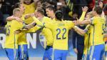 Suecia venció 2-0 a Moldavia y jugará repechaje para Eurocopa 2016 - Noticias de selección de moldavia