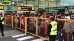 Perú vs. Chile: así esperaron los hinchas peruanos a la 'Roja' en el aeropuerto - Noticias de swissotel lima