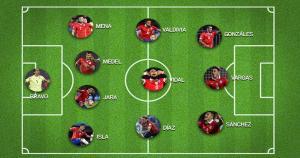 El partido entre Perú y Chile se jugará este martes, desde las 9.15 p.m.