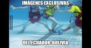 La Selección de Ecuador le ganó por 2-0 a la Selección Bolivia en el estadio Olímpico de Atahualpa. (Difusión)