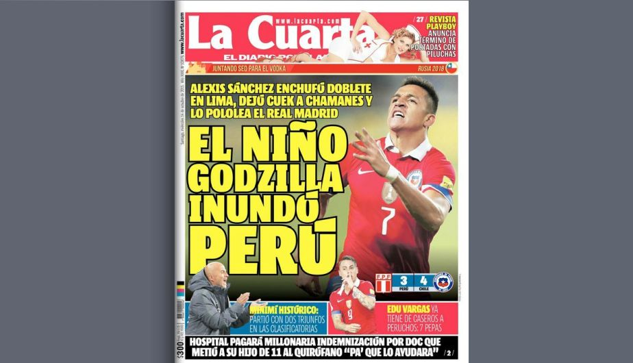 Perú vs. Chile: así informó la prensa mundial la derrota de la ...