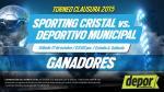 Sporting Cristal vs. Municipal: estos son los ganadores de entradas dobles - Noticias de yolanda gutierrez
