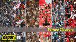 Torneo Clausura: día, hora, canal y árbitros de los partidos de la fecha 10 - Noticias de fernando castaneda melgar