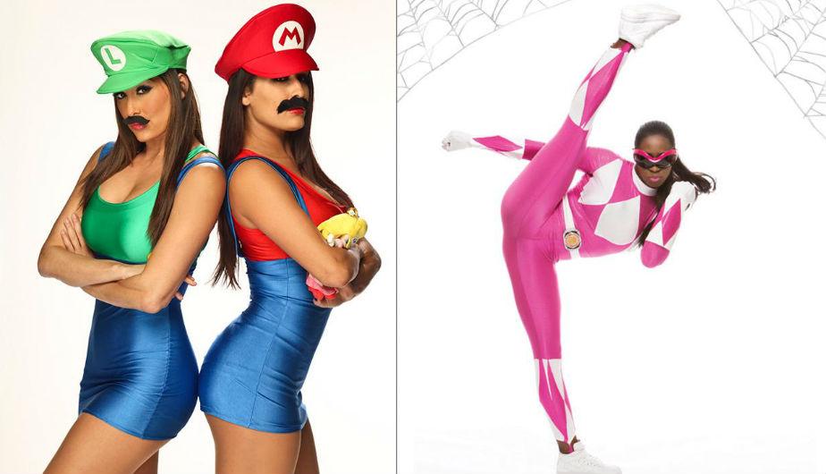 WWE las Divas con los ms sensuales disfraces para Halloween FOTOS