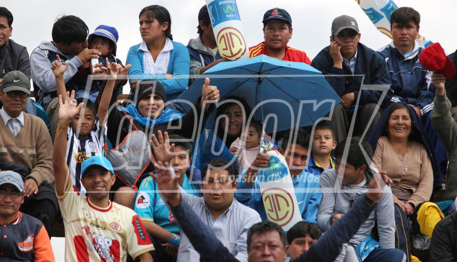 Alianza Lima cayó por 3-0 ante UTC en Cajamarca. (Violeta Ayasta)