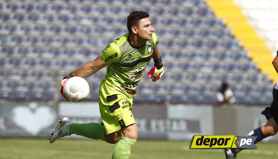 Mario Villasanti, arquero de Ayacucho FC. (USI)
